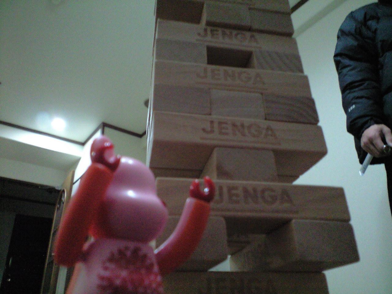 JENGA NIGHT.