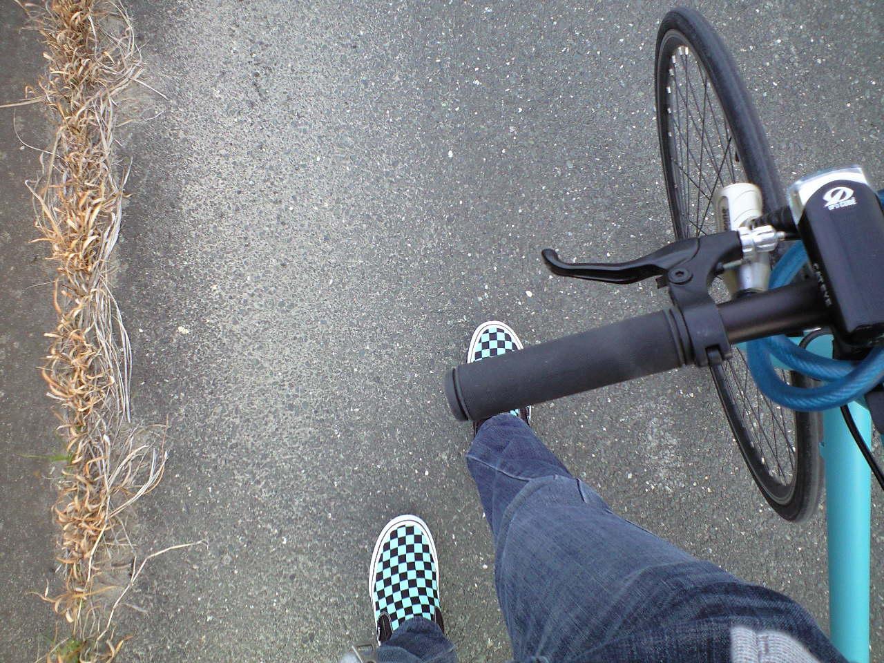 tokyo bike、パンク!